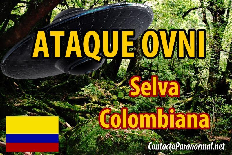 Ataque Extraterrestre en Colombia
