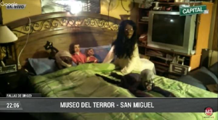 El museo de terror de Lima cuenta con muchos objetos interesantes, obviamente que dan mucho miedo.
