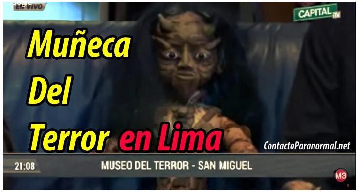 Muñeca Más Terrorífica de Perú