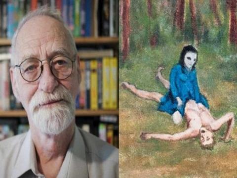 Abuelito tiene sexo con aliens y hace pinturas al respecto
