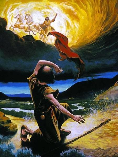 Cómo el espíritu de Elías reposo sobre el profeta Eliseo