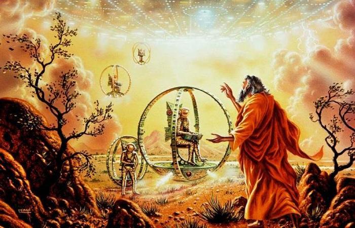 Extraterrestres en la biblia