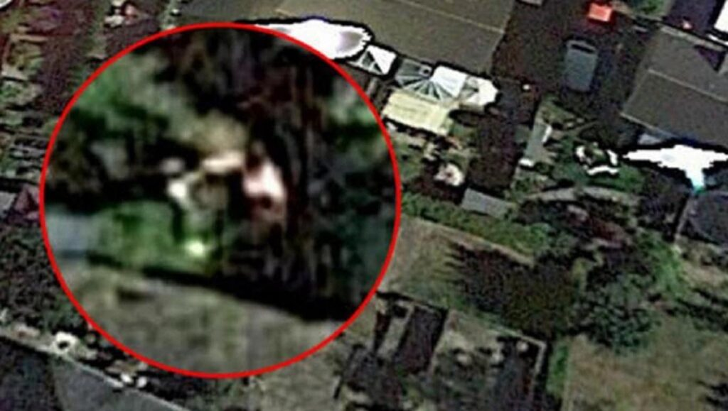 Google Maps, fotos muestran una supuesta abducción extraterrestre