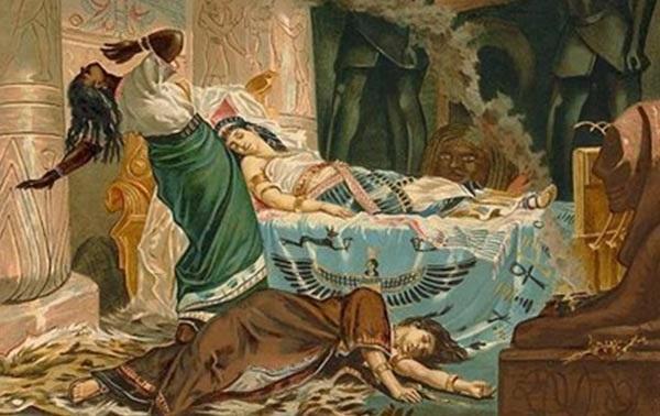 La dramática muerte de Cleopatra