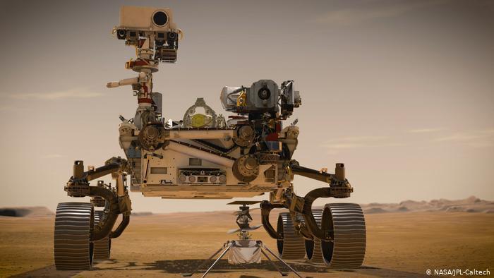Róver Perseverance, vehículo inteligente enviado a Marte.